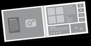 portfolio format