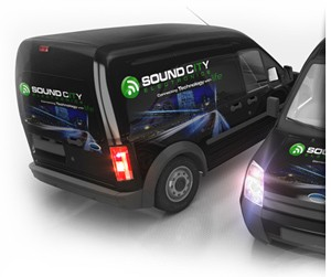 Small Vehicle Wraps